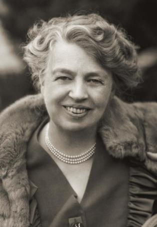 circa 1943: Portrait of Anna Eleanor Roosevelt (1884-1962), American author, diplomat and humanitarian. She was the wife of Franklin D. Roosevelt and served as a delegate to the United Nations (1945-1951) and was chairperson of the U.N. Commission on Human Rights (1946-1951). (Photo by Stock Montage/Getty Images)